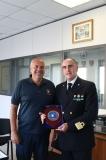 Visita Comandante Vincenzo Leone alla Corporazione dei Piloti dei Porti di Roma