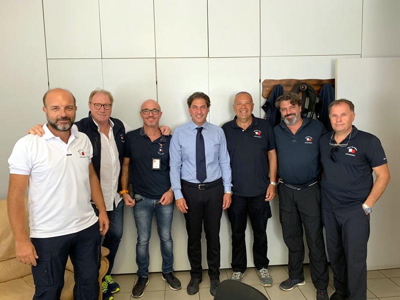 Incontro con il Direttore della Federazione Italiana dei Piloti dei Porti