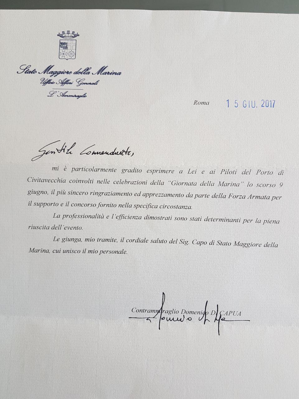 GIORNATA DELLA MARINA 2017