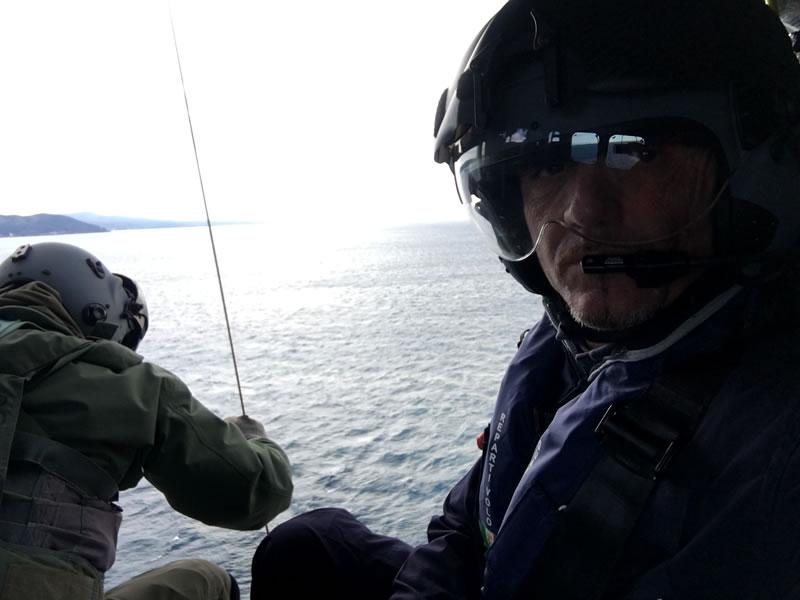 Corso di addestramento da elicottero