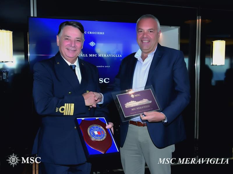 Nuova nave MSC Meraviglia